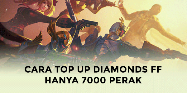 Cara Top Up 70 Diamond Free Fire 7000