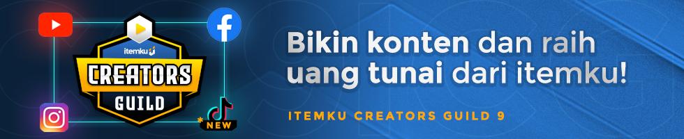 itemku Creators Guild: Dapatkan Jutaan Rupiah dari Konten!
