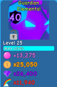 Guardian Elemental l Bubble Gum Simulator