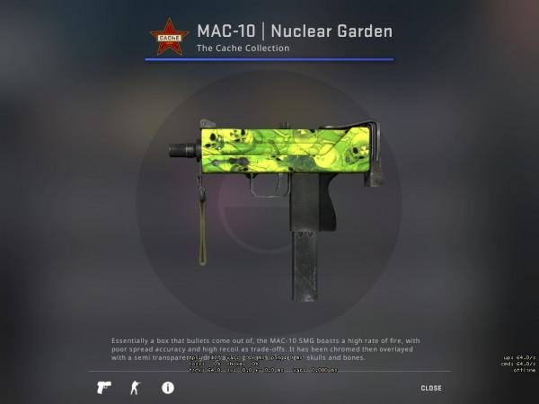 MAC-10   Nuclear Garden