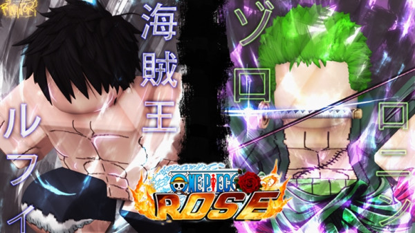 Yami Yami No Mi (Dark) - One Piece Rose