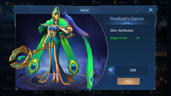 Peafowl's Dance (Elite Skin Pharsa)