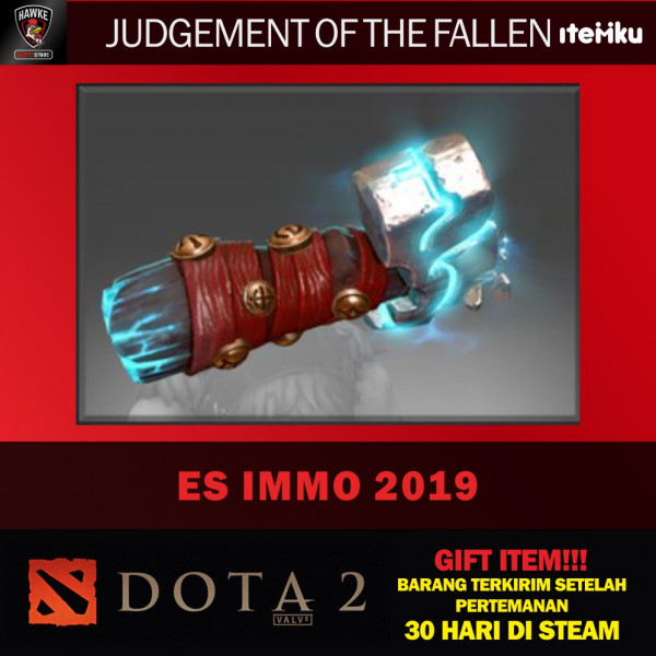Judgement of the Fallen (Immortal TI9 Earthshaker)
