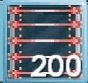 200 Block Laser Grid