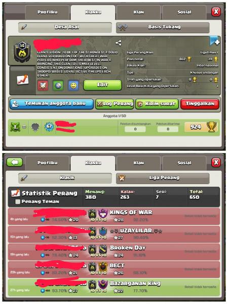 Clan Level 14