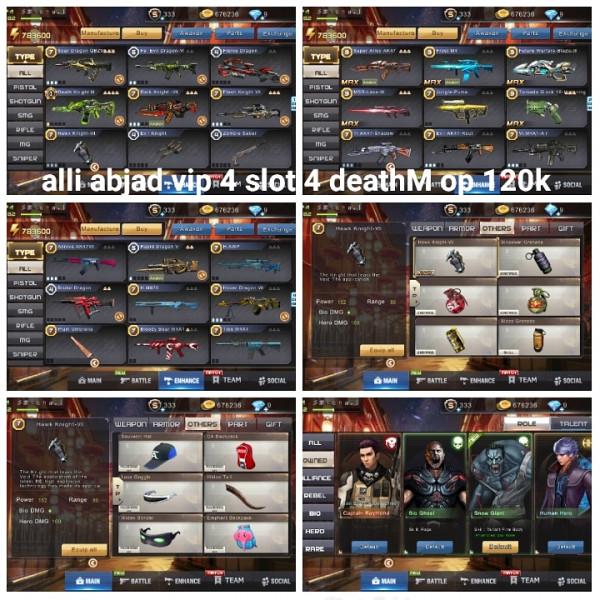 Akun game crisis action deathM