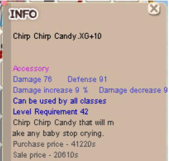 Chrip Chrip Candy XG +10 ( CCC XG+10 )