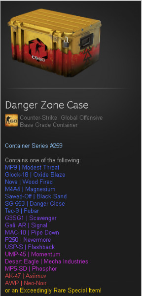 Danger Zone Case