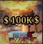 1 Million Beli | One Piece Rose