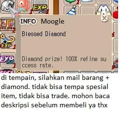 Blessed Diamond Untrade