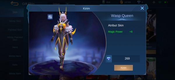 Wasp Queen (Selena Skin)