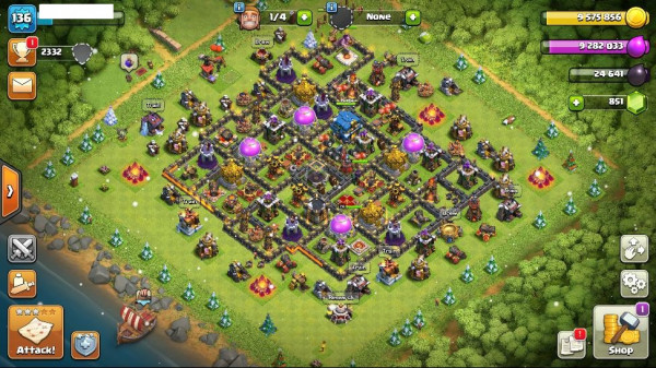 TH12/LV136 - King 24 Queen 40 Warden 20
