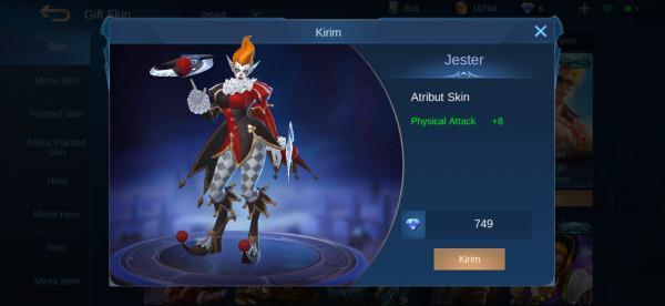 Jester (Special Skin Karrie)