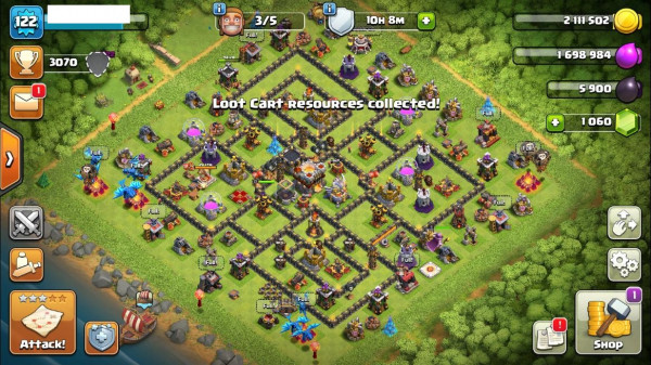 TH11/LV122 - King 9 Queen 23 Warden 6