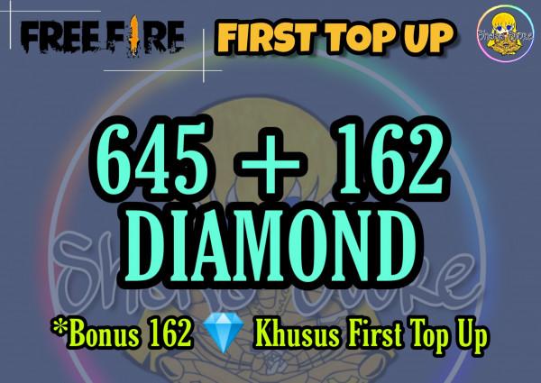 645 + 162 Diamonds