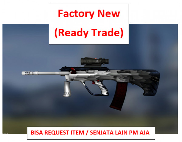 AUG | Arctic Wolf FN | Ready Trade