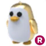 Golden Pinguin (R) - AdoptMe