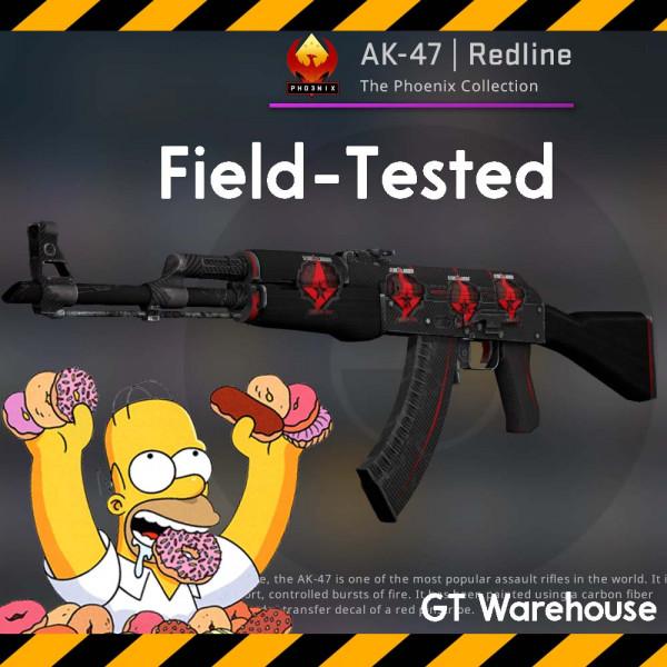 AK-47   Redline (Classified Rifle)