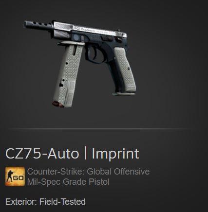 CZ75-Auto   Imprint (Mil-Spec Pistol)
