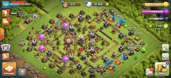 MAX Town Hall 11, Hero, Base GG