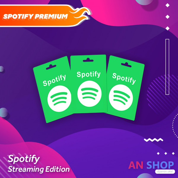 Spotify Premium 1 Year - Reseller x5 Pack