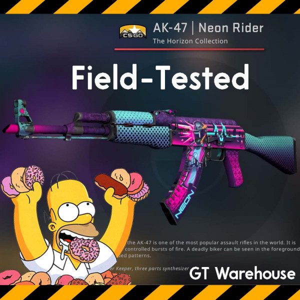 AK-47 Neon Rider (Field Tested)