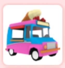 Vehicles Ice Cream Van - Adopt Me