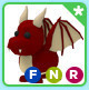 Dragon(Can Fly&Ride&Neon)Adopt me