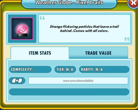 Weather Globe - Pixel Trails