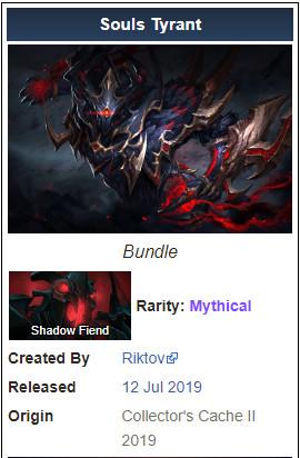 Souls Tyrant (Shadow Fiend Set)