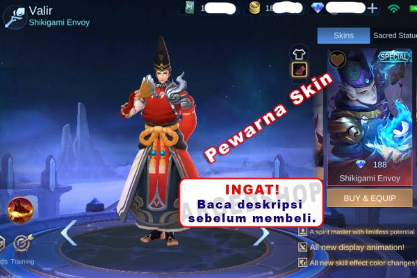 Shikigami Envoy - (Valir Painted Skin)