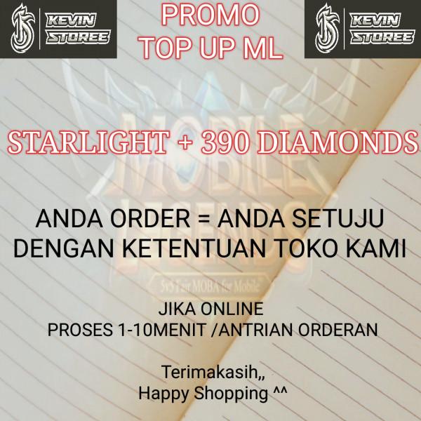 Starlight + 390 Diamonds