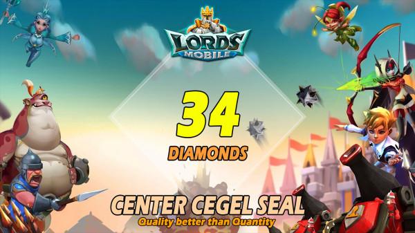34 Diamonds