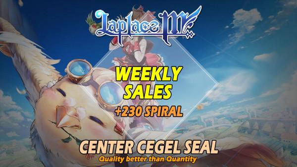 Weekly Sales + 230 Spiral