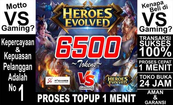 6500 Tokens (All Server)
