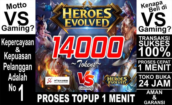 14000 Tokens (All Server)