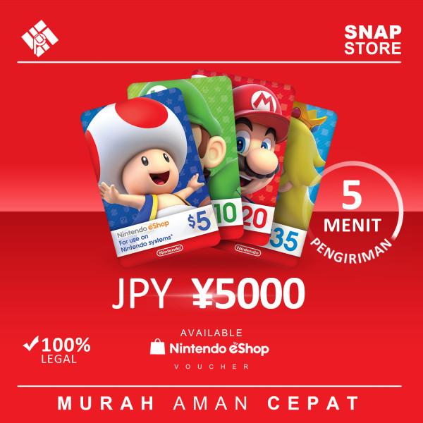 JPY 5000
