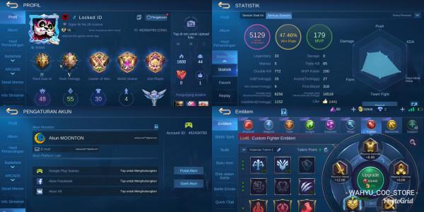 LVL 85 | HERO 48 + SKIN 30 | ALL UNBIND + LEGEND 4