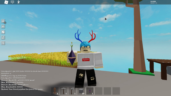slime island key -sky block-