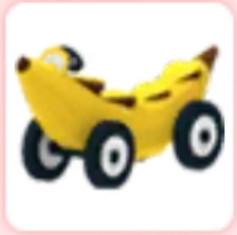 Vehicle Banana Car Adopt Me!