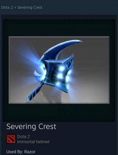 Severing Crest (Immortal Razor)