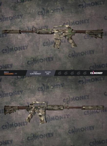 M4A1-S | VariCamo (Mil-Spec Rifle)