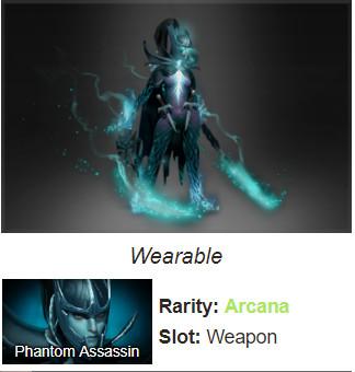 Inscribed Manifold Paradox (Arcana Phantom Assassin)