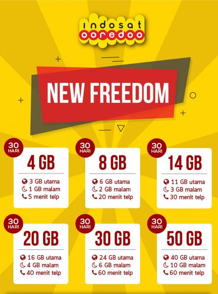 Freedom 4 GB 30 Hari