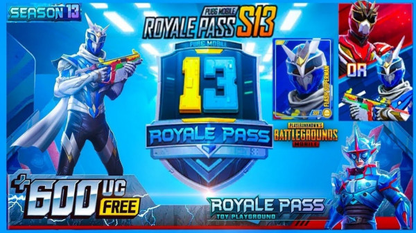 Kartu Upgrade Royale Pass Musim 13