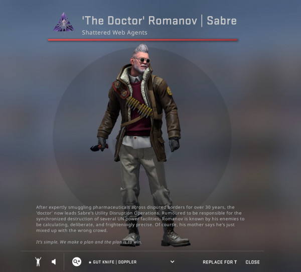 'The Doctor' Romanov | Sabre
