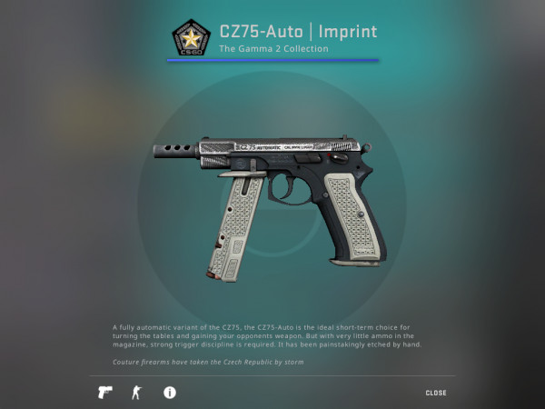 CZ75-Auto imprint (Field Tested Condition)