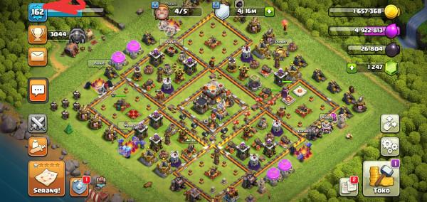 Clash Of Clans TH 11 Hero GG Murmer