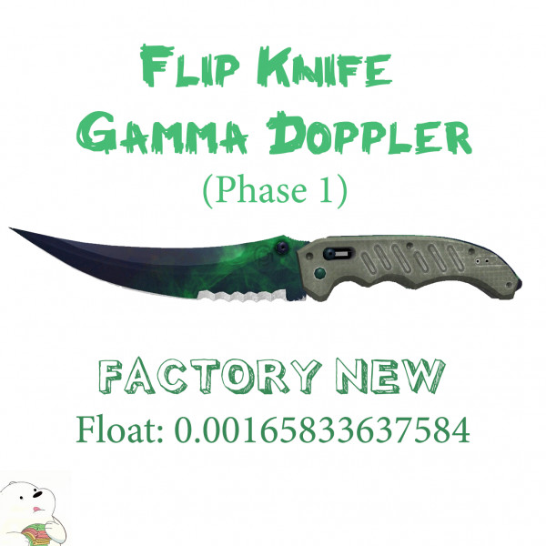 Flip Knife | Gamma Doppler [FN] Float 0.0016