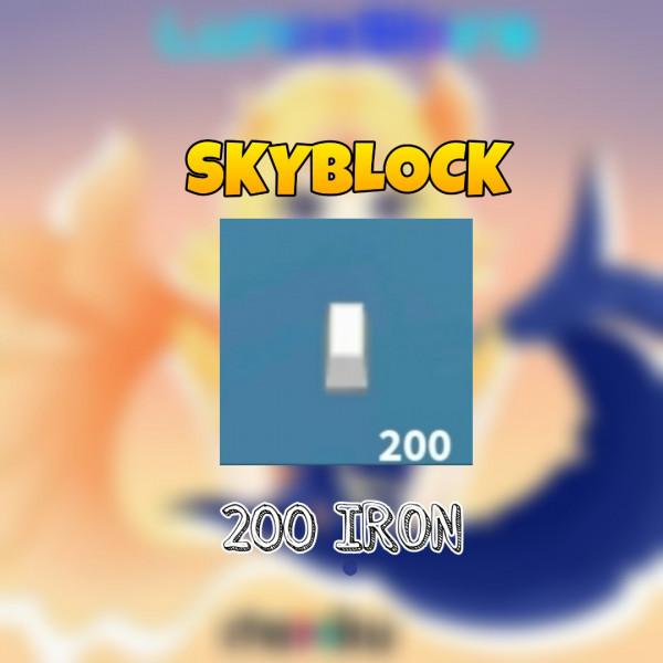 200 Iron Skyblock